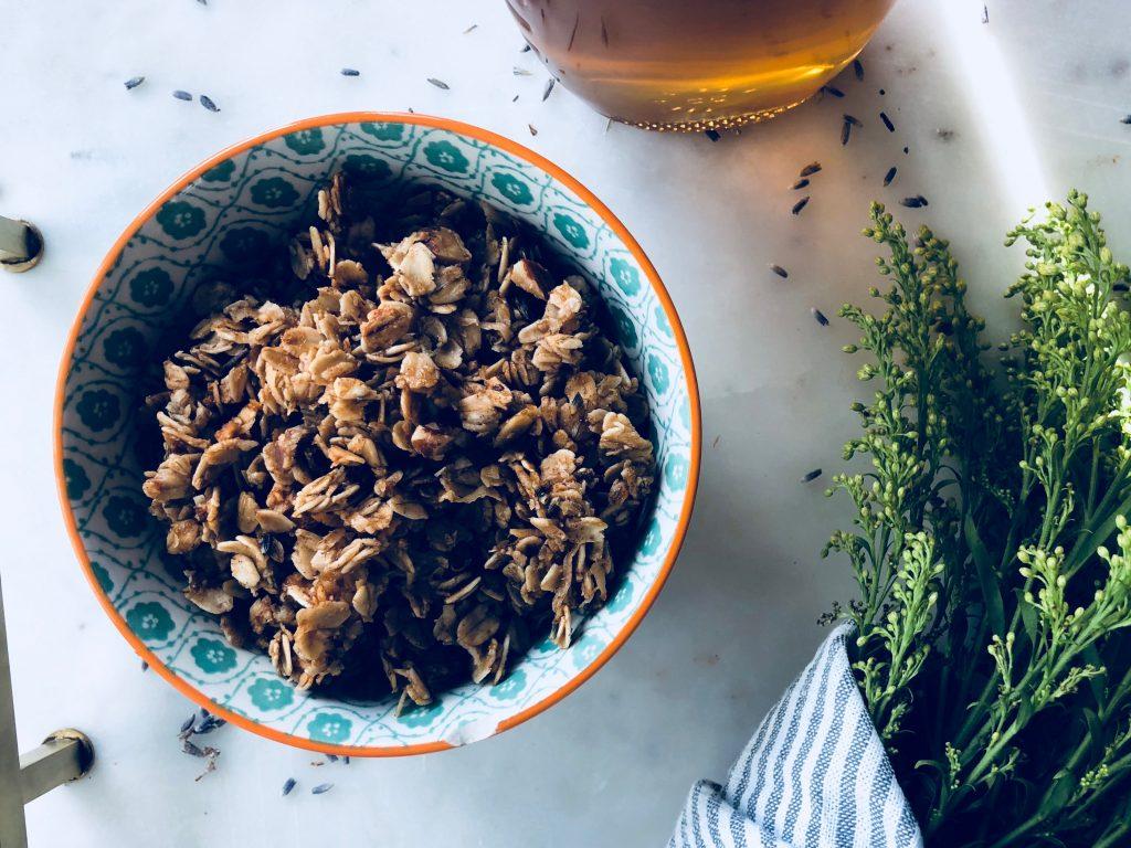 Honey Lavender Granola - The Honest Crumb